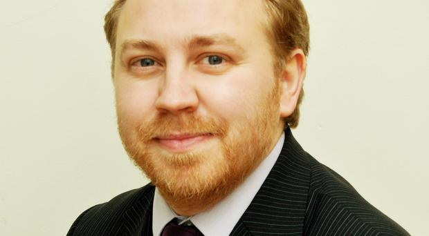 Steven Agnew MLA is leader of the Green Party in Northern Ireland