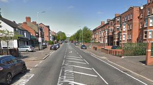 The attack happened in the Cliftonville Road area of Belfast. Credit: Google Maps