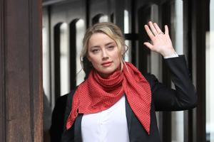 Actress Amber Heard's stormy marriage to Johnny Depp has been examined during a high-profile libel trial (Aaron Chown/PA)