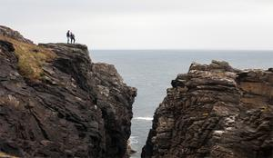 Malin Head is the most northerly point in Ireland