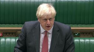 Boris Johnson has said legislation is needed to prevent an 'extreme and unreasonable' interpretation of the Withdrawal Agreement (House of Commons/PA)