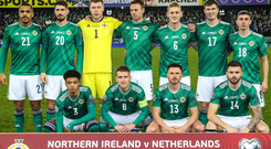 Green machine: the Northern Ireland side are our Team of the Year for 2019 (Platinum section)