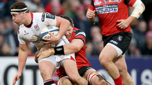 Charging ahead: Rob Herring wants to play a part in Ireland's Six Nations title defence