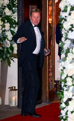 Harry Redknapp arrives at the wedding of Christine Bleakley and Frank Lampard at St Paul's Church in Knightsbridge, London. PRESS ASSOCIATION Photo. Picture date: Sunday December 20, 2015. See PA story SHOWBIZ Lampard. Photo credit should read: Gareth Fuller/PA Wire