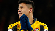 Show of anger: Alexis Sanchez wasn't hiding his frustration. Photo: Andrew Matthews/PA