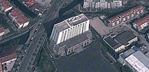 PLA Unit 61398 alleged to be the source of Chinese computer hacking attacks. Image: Google Earth