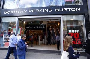 Dorothy Perkins and Burton are among the group's brands (Sean Dempsey/PA)