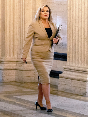Deputy First Minister Michelle O'Neill. Photo: Liam McBurney/PA Wire