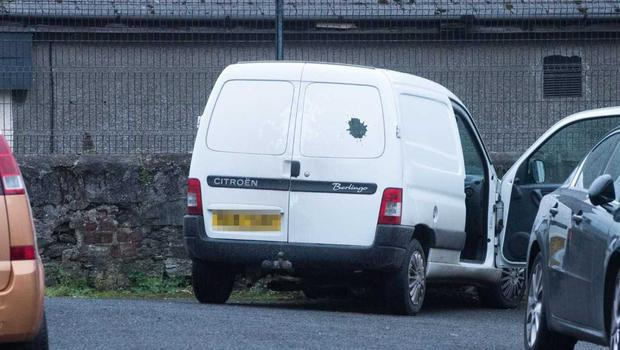 Derry van shooting