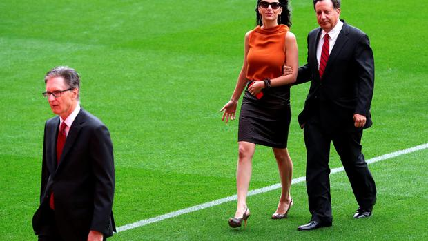 "Linda Pizzuti wife of Liverpool owner John W Henry (left) with Tom Werner (right) ahead of the opening of the Anfield Main Stand, Liverpool. PRESS ASSOCIATION Photo. Picture date: Friday September 9, 2016. Photo credit should read: Peter Byrne/PA Wire. RESTRICTIONS: EDITORIAL USE ONLY No use with unauthorised audio, video, data, fixture lists, club/league logos or ""live"" services. Online in-match use limited to 75 images, no video emulation. No use in betting, games or single club/league/player publications."