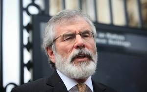 Gerry Adams has a ruthless view towards political unionism
