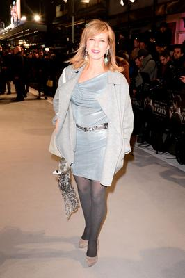 Kate Garraway attending the UK premiere of Fifty Shades of Grey at the Odeon Leicester Square, London. PRESS ASSOCIATION Photo. Picture date: Thursday February 12, 2015. See PA story SHOWBIZ Fifty. Photo credit should read: Dominic Lipinski/PA Wire
