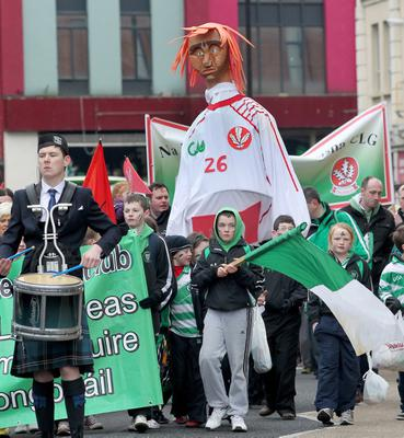 The St Patricks Day parade in Derry city 2013. Picture Margaret McLaughlin © by-line