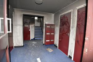 Rosewood Park, in Belfast, where three women and a baby escaped injury after a fire in the hallway of the flats.  Photo by Stephen  Hamilton / Press Eye