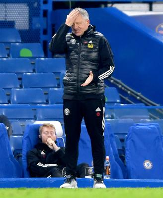 Chris Wilder was left frustrated after the defeat (Mike Hewitt/PA)