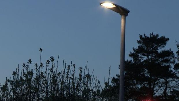 Broken street lights are being removed rather than fixed on certain roads, it has been claimed. Credit: BBC