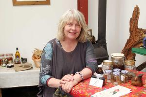Herbalist Joan Howard pictured at her home outside Newcastle in Co. Down