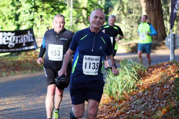 Mandatory Credit - Picture by Freddie Parkinson/Press Eye © Saturday 19th November 2016 Belfast Telegraph Run Forest Run Drum Manor Forest Park, Drum Road, Cookstown BT80 9RT Pat Maguire and Clifford Jones