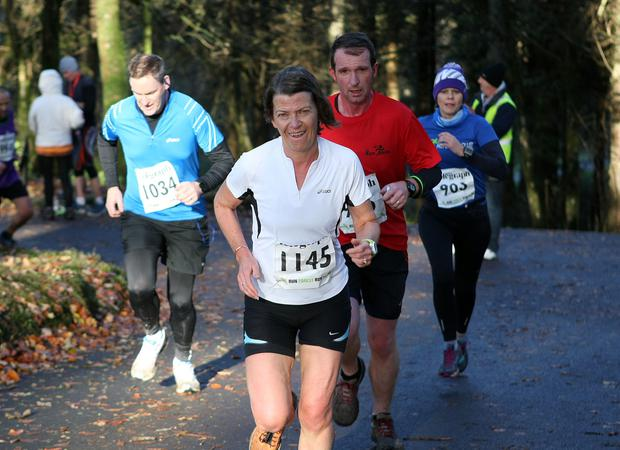 Mandatory Credit - Picture by Freddie Parkinson/Press Eye © Saturday 19th November 2016 Belfast Telegraph Run Forest Run Drum Manor Forest Park, Drum Road, Cookstown BT80 9RT Linda Walsh ENNISKILLEN