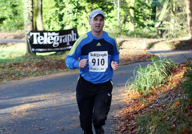Mandatory Credit - Picture by Freddie Parkinson/Press Eye © Saturday 19th November 2016 Belfast Telegraph Run Forest Run Drum Manor Forest Park, Drum Road, Cookstown BT80 9RT Bansky Tamas from Portadown