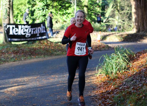 Mandatory Credit - Picture by Freddie Parkinson/Press Eye © Saturday 19th November 2016 Belfast Telegraph Run Forest Run Drum Manor Forest Park, Drum Road, Cookstown BT80 9RT Julie Henry from Antrim