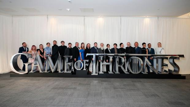 The cast of Game of Thrones attend the