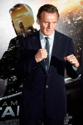 Fight scenes: Liam Neeson has starred in several action hero movies during a long career but now he admits he's getting too old for those kind of roles
