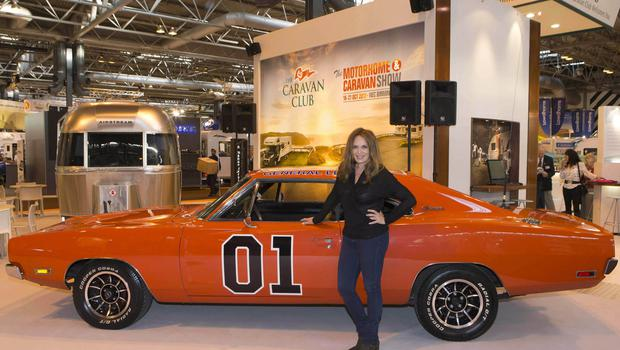 Actress Catherine Bach, who played the original Daisy Duke in The Dukes Of Hazzard (Bob Collier/PA)
