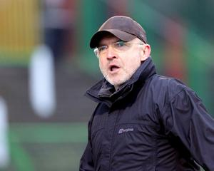 Glentoran manager Mick McDermott has issued a passionate reply to the club's critics.