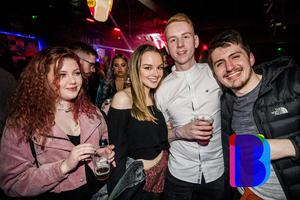 29 Feb 2020 People out at Limelight for AAA Saturdays. (Liam McBurney/RAZORPIX)