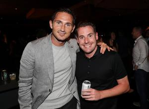 Frank Lampard and Steven Davidson pictured at the Carl Frampton v Leo Santa Cruz bout in Saturday nights WBA featherweight title contest at the Barclays Centre, Brooklyn, NY.  Press Eye - Belfast -  Northern Ireland - 30th July 2016 - Photo by William Cherry