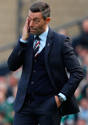 Shocker: Pedro Caixinha's side were dumped out of Europe