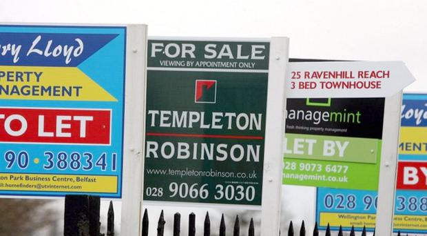 Uncertainty over Brexit, the lack of an Assembly and poor pay rises in the public sector are behind stagnant property prices, a leading estate agent has said