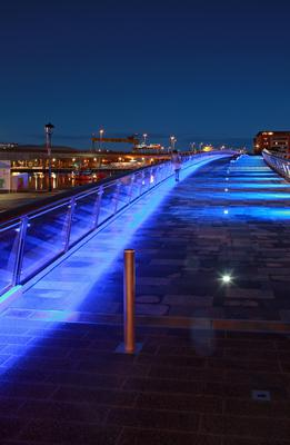 Best Public Space WINNER. Lagan Weir Footbridge, Belfast by AECOM