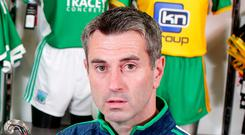 Fermanagh manager Rory Gallagher