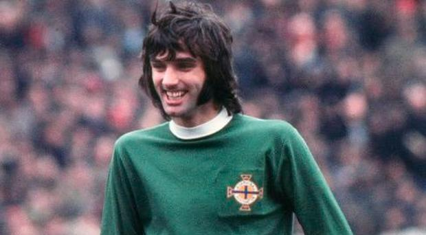 Football legend George Best brought his magic to Rotterdam in 1976.