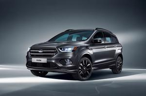 8. Ford Kuga with 1,206 sales