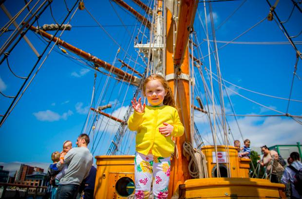 The 2017 maritime festival (Photo by Kevin Scott / Belfast Telegraph)