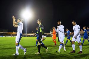 Finn Harps' Paddy McCourt walks out for his last game Mandatory Credit ©INPHO/Tommy Dickson