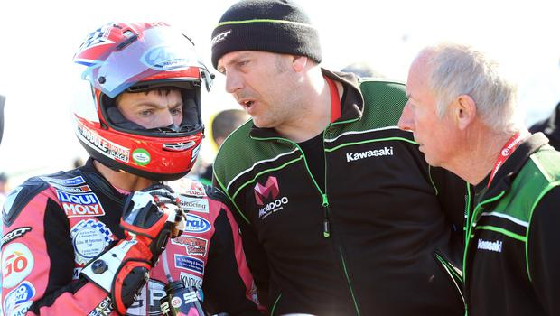 PACEMAKER, BELFAST, 17/5/2018: James Cowton on the grid during the second 2018 Vauxhall International North West 200 on Thursday. PICTURE BY STEPHEN DAVISON
