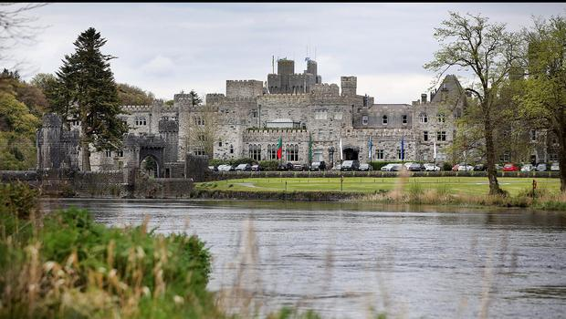 Ashford Castle in Co Mayo. Pic Steve Humphreys