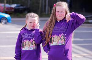 Disappointed Little Mix fans at the SSE arena   Katie Dougan and Alex Redpath  Picture - Kevin Scott / Belfast Telegraph