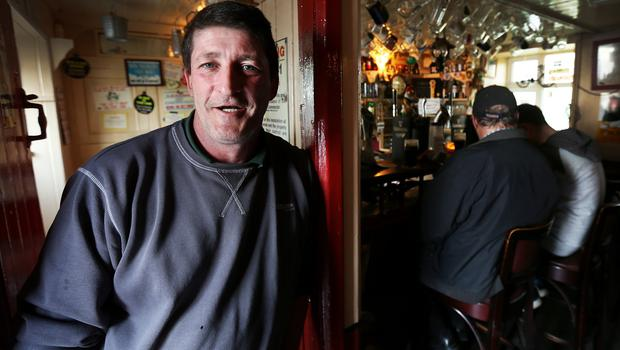 Dermot Sears Owner of Tig an tSaorsaigh's Pub and B&B in Ballyferriter close to Ceann Sibeal in Kerry who had looked after some of the crew during the making of Star Wars Episode VIII.