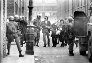 Huge pressure: incidents like Bloody Sunday became sticks for the Tory right to beat broadcasters with, such as the BBC in Northern Ireland