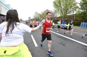 7th May 2018 37th Deep RiverRock Belfast City Marathon   Ricky Burns pictured at the marathon  Mandatory Credit ©Presseye/Stephen Hamilton