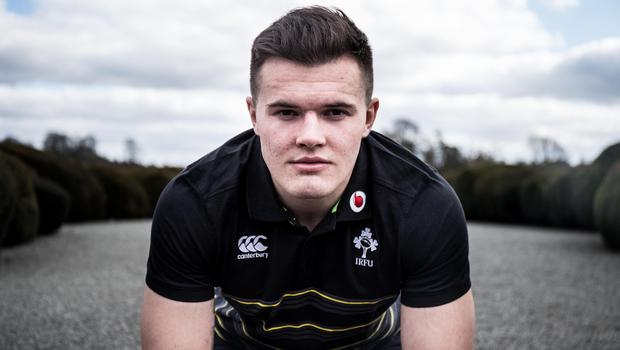 High hopes: Jacob Stockdale is excited about what the future holds with both Ulster and Ireland