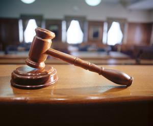 Two men appeared in court yesterday following a spate of crimes committed against the elderly