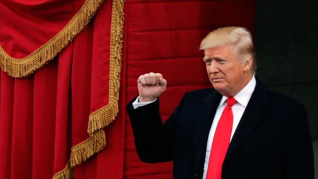 US President-elect Donald Trump arrives on the West Front of the Capitol on January 20, 2017 in Washington, DC. In today's inauguration ceremony Donald J. Trump becomes the 45th president of the United States.  (Photo by Chip Somodevilla/Getty Images)