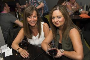 The Poet rebranding launch night pictured Julie Kane and Donna mulligan