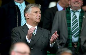 Celtic chief executive Peter Lawwell paid tribute to Stevie Chalmers (Andrew Milligan/PA)